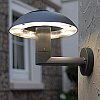 Elstead Lutec Spril UT/SPRIL W2251M Black Outdoor Wall Light